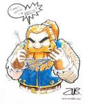 Gen Con- Dwarf Knitting by Zubby