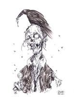 Zombie Sketch by Zubby