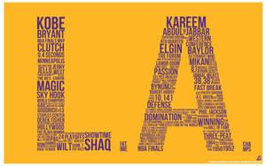 Los Angeles Lakers by IshaanMishra
