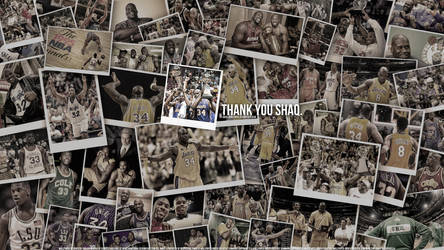 Shaq Tribute Wallpaper by IshaanMishra