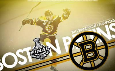 Boston Bruins Stanley Cup by IshaanMishra