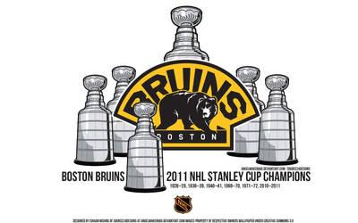Boston Bruins 2011 Stanley Cup by IshaanMishra