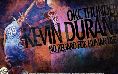 Kevin Durant Dunk Wallpaper by IshaanMishra