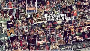 Michael Jordan Legend Wall by IshaanMishra
