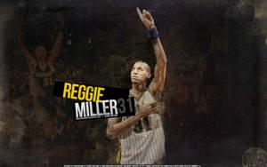 Reggie Miller Pacers Wallpaper by IshaanMishra