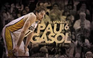 Pau Gasol Lakers Wallpaper by IshaanMishra