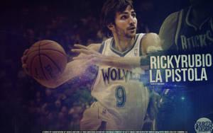 Ricky Rubio Timberwolves Wallpaper by IshaanMishra