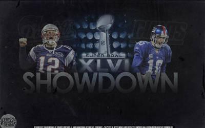 Patriots vs Giants Superbowl XLVI Wallpaper by IshaanMishra