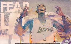 J.R. Smith Lakers Wallpaper by IshaanMishra