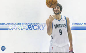 Ricky Rubio Wallpaper by IshaanMishra