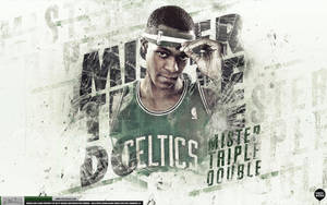 Rajon Rondo Celtics Wallpaper by IshaanMishra