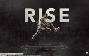 Derrick Rose Rises by IshaanMishra