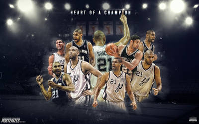Tim Duncan Wallpaper by IshaanMishra