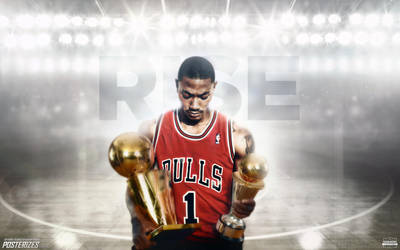 Derrick Rose Wallpaper by IshaanMishra