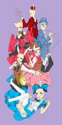 Alice in wonderland Base by xXxYukihimebearxXx