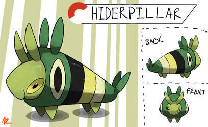 Caterpillar Fakemon by TRspicy