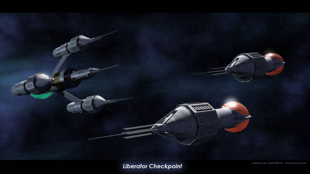Liberator Checkpoint by axeman3d