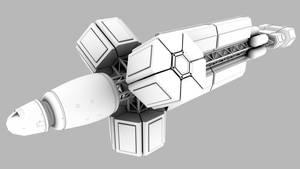 Truss test ship new by axeman3d