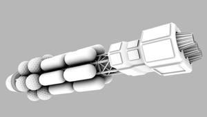 Truss test ship new II by axeman3d