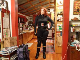 Black Widow Cosplay (test run 1) by SOULREAPER-AngelGirl
