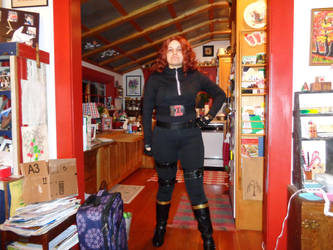 Black Widow Cosplay (Test run #2) by SOULREAPER-AngelGirl