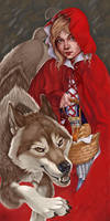 Red Riding Hood by VisionCrafter