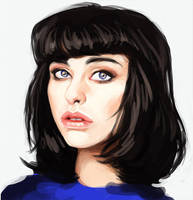 Kimbra Sketch by CrystalGrazianoArt