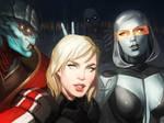 selfie by CrystalGrazianoArt