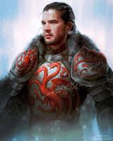 Jon the Targaryen by CrystalGrazianoArt
