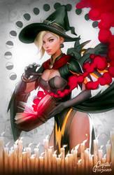 Witch Mercy by CrystalGrazianoArt