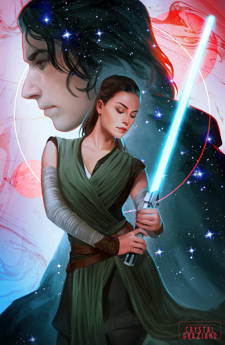 Star Wars - The Balance by CrystalGrazianoArt