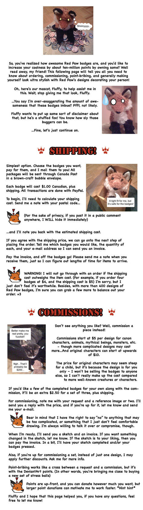 READ THIS FIRST-Sales+commishs by RedPawDesigns