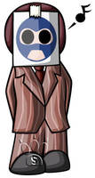 Spy Chibi by RedPawDesigns