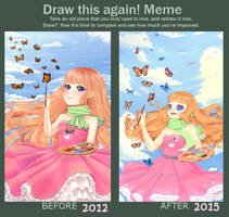 .:Meme:.Before-After by Vicle-chan