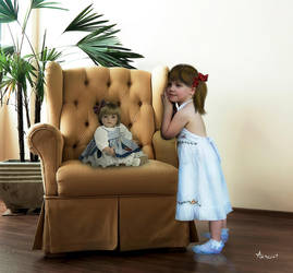 TWO DOLLS by ANDREA-KNUST