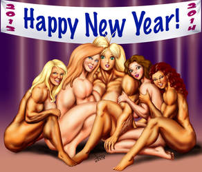 Happy 2014 by DavidCMatthews