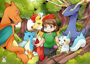 Pokemon Family: Teresa by Desinho