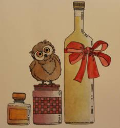 owl on yam glas by kibo14