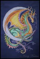 Celestial Dragon by KezzaLN