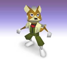 Super Smash Bros. Project M: Fox N64 by Mach-7
