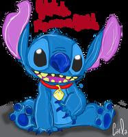 My name Stitch by Okami-Moony