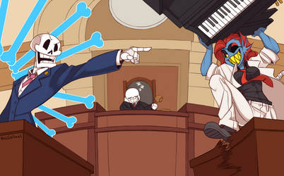 Objection!- Commission by KelCasual