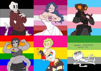 Pride Month by KelCasual