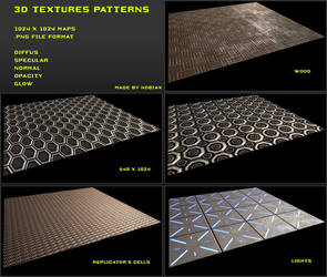 Nobiax Texture pack 4 Package by SethPDA