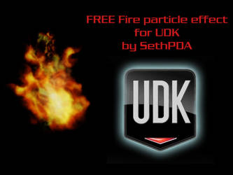FREE Fire Particle for UDK by SethPDA