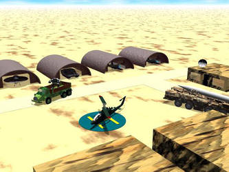 Army Base by DesertFOX135