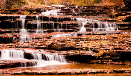 Zion Falls by mikewheels