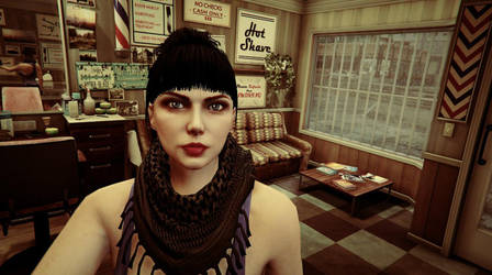 Grand Theft Auto V Female Character by paul743