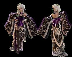 Model DL - TDA Kimono Haku Type-elina002 by elina002