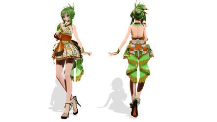 Model DL - TDA Short Kimono Gumi by elina002
